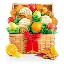 20% off Fresh Fruit & Cookies Basket