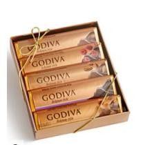 20% off Godiva 5 Bar Pack