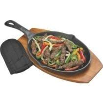 20% off GrillPro Cast Iron Fajita Pan + Free Shipping