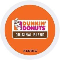20% off Keurig K-Cup Dunkin' Donuts Original Blend Coffee, 44 Count
