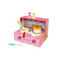 20% off Kitchen Box Wooden Cooking Toy Playset + Free Shipping