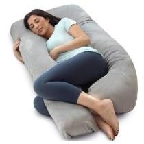 20% off PharMeDoc Pregnancy Pillow U Shape Velvet - Grey