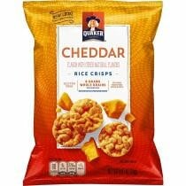 20% off Quaker Rice Crisps Savory Mix 30 Count 0.67 Oz Bags + Free Shipping
