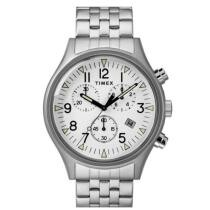 20% off Timex Men's MK1 Chronograph 42mm Stainless Steel Bracelet Watch + Free Shipping