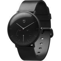 $210 off Xiaomi Mijia Intelligent Business Casual Unisex Quartz Watch Life Waterproof Double Dial Stainless Leather Strap Steel Watch Black