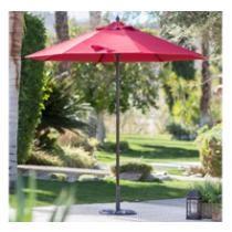 $22 Coral Coast 7.5-ft. Wood Market Umbrella