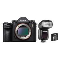 22% off Sony Alpha a9 Mirrorless Full Frame Camera w/ FlashPoint Zoom Li-on R2 Flash