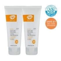24% off 2 SPF30 Scent Free Sun Lotions