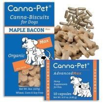 24% off Canna Pet Advanced MaxHemp 10 Count Capsules & MaxHemp Biscuits