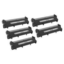 25% off 5-Pack Compatible Brother TN660 High Yield Black Toners