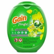 25% off 81-Count Gain Flings Laundry Detergent Pacs w/ Subscribe & Save Checkout + Free Shipping