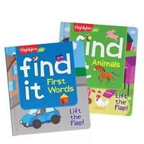 25% off Find It First Words & Animals Board Books - 2 Book Set