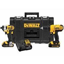 27% off DeWalt ToughSystem 20V MAX 2-Tool Combo Kit w/ Tool Box