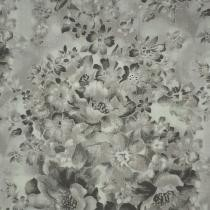 27% off Faded Floral Quilt Backing 108 Inch Gray Fabric