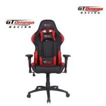 27% off GT Omega PRO Racing Office Gaming Chair Black & Red Leather