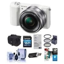 27% off Sony Alpha A5100 Mirrorless Camera w/ 16-50mm Lens & Free Accessories