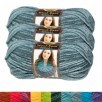 3-Pack Lion Brand Yarn (Various Colors & Types)