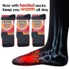3-Pairs: Heat Insulating Thermal Socks For Women or Men