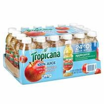 30% off 24-Count Tropicana 100% Apple Fruit Juice Bottles w/ Subscribe & Save Checkout + Free Shipping
