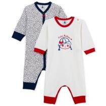 30% off Baby Girls Footless Sleepsuit Set