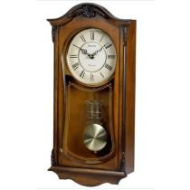 30% off Bulova Cranbrook Wall Chime Wood Clock