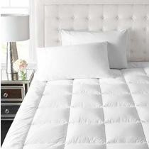 $30 off eLuxurySupply Rayon from Bamboo Extra Thick Mattress Pad w/ Fitted Skirt