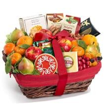 30% off Golden State Fruit Holiday Tidings Deluxe Gourmet Gift Basket + Free Shipping