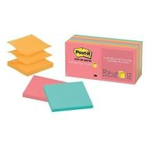 30% off Post-it Pop-up Notes, Cape Town Collection - 12 Pads/Pack