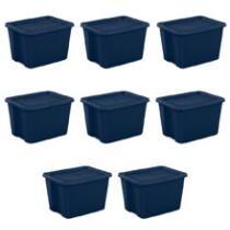 30% off Sterilite 18-Gallon Tote Box, Case of 8 + Free Shipping
