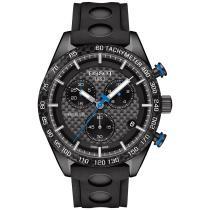 30% off Tissot Men's Swiss Chronograph PRS 516 Black Rubber Strap Watch 42mm
