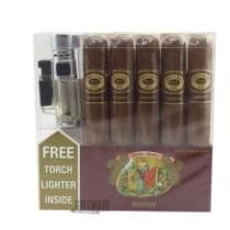 31% off 5-Pk. Romeo Y Julieta Reserve Toro + Free Torch Lighter