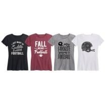 32% off Women's Fall Means Football Top