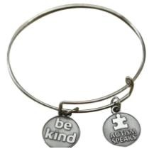 33% off Be Kind Wire Charm Bracelet