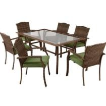 33% off Living Accents 7 Pc. Peyton Dining Set Green