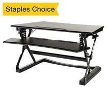 33% off Staples Sit to Stand Adjustable Desk Riser