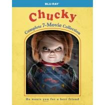 34% off Chucky: Complete 7-Movie Collection Blu-ray Box Set + Free Shipping