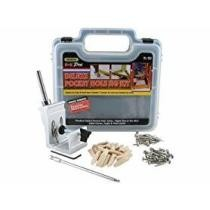 34% off General Tools 850 Heavy Duty 76-Piece All-in-One Aluminum Pocket Hole Jig Kit