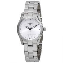 34% off Tissot Women's T-Wave Stainless Steel Silver Dial Watch