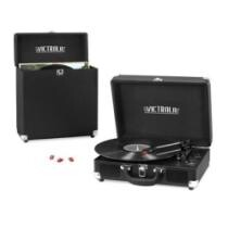 34% off Victrola 3-Speed Record Player Bundle