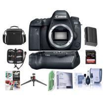 35% off Canon EOS 6D Mark II DSLR Body w/ Canon BG-E21 Battery Grip & Free Accessory Bundle