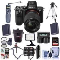 35% off Sony Alpha a7II Mirrorless Camera OSS Lens w/ Pro Bundle