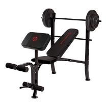 36% off Marcy Club Bench w/ Barbell Weight Set