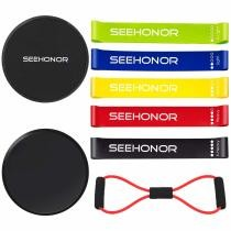 36% off Seehonor Resistance Bands & Core Sliders Combo