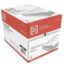 "36% off TRU RED 8.5"" x 11"" Printer Paper 5 Reams"