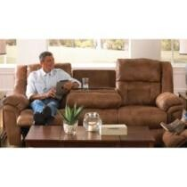 37% off Jennings Dual Lay Flat Reclining Sofa w/ Drop-Down Table