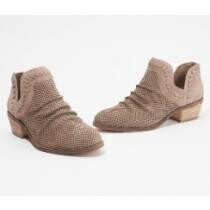 37% off Vince Camuto Perforated Suede Ankle Booties