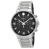 38% off Men's Movado SE Pilot Black Dial Stainless Steel Chronograph Watch