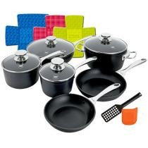 39% off Berndes 15-Piece Berndes Coquere Non-Stick Forged Cookware Set + Free Shipping
