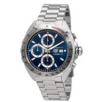 39% off Tag Heuer Formula 1 Blue Sunray Dial Automatic Men's Chronograph Watch