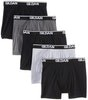 4-Pack Gildan Men's 100% Cotton Boxer Briefs